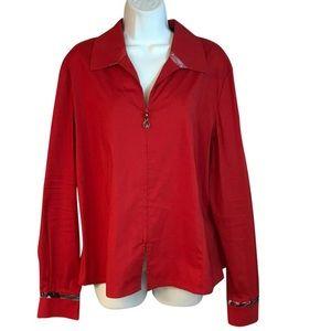 St. John red top XL